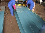 Aluminum 1050 / 1060 / 3003 Corrugated Roofing Sheets Thickness 0.2 - 1.5mm