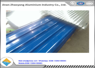 Environmental Protection Painted Corrugated Aluminum Sheet H14 H24 H18 H112