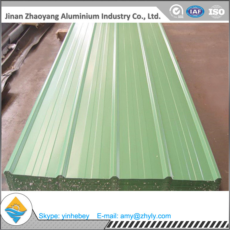 Black/Colorful Aluminum Corrugated Roofing Sheet / Aluminum Corrugated Roofing Plate